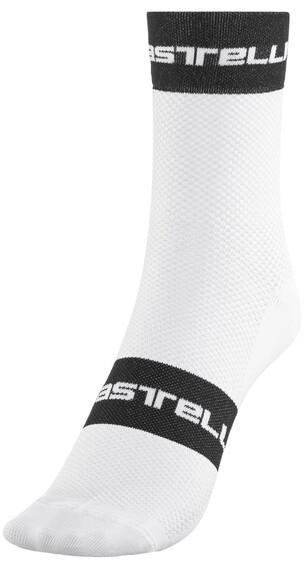 Castelli Free 9 Sokker Hvit/Svart